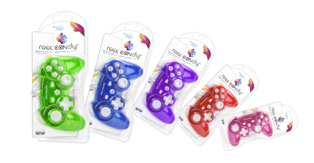 Rock Candy PS3 Controllers