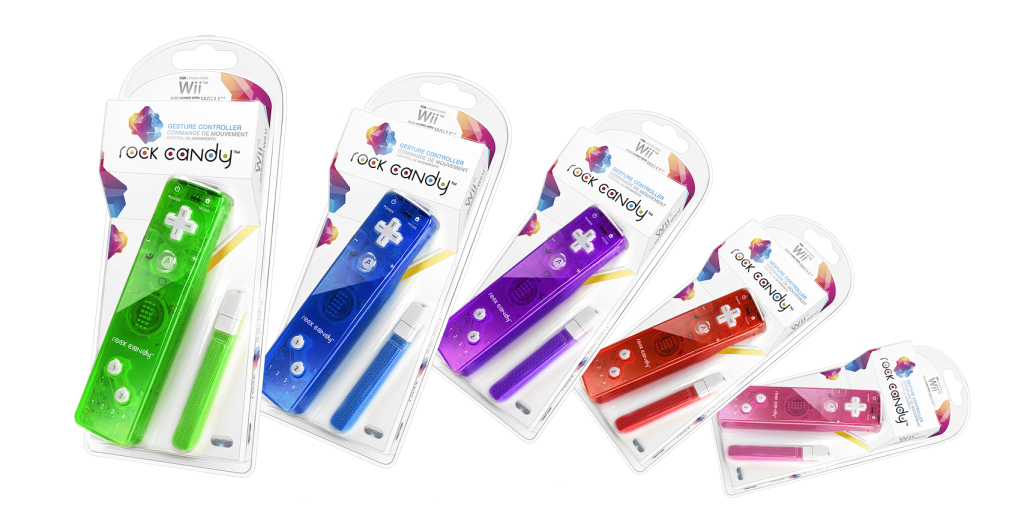 Rock Candy Wii Controllers